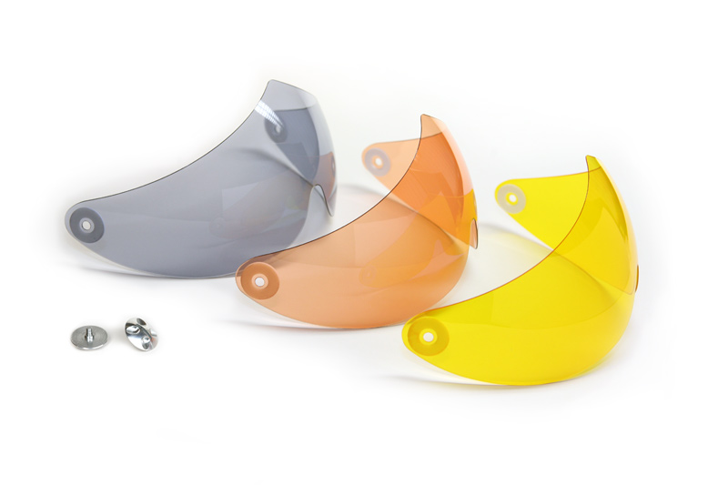 HHe950 Visor grey, salmon, yellow for breeze