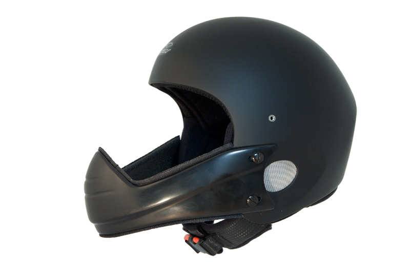 HHe5v Charly Ace black + HHe510 Chin guard wide