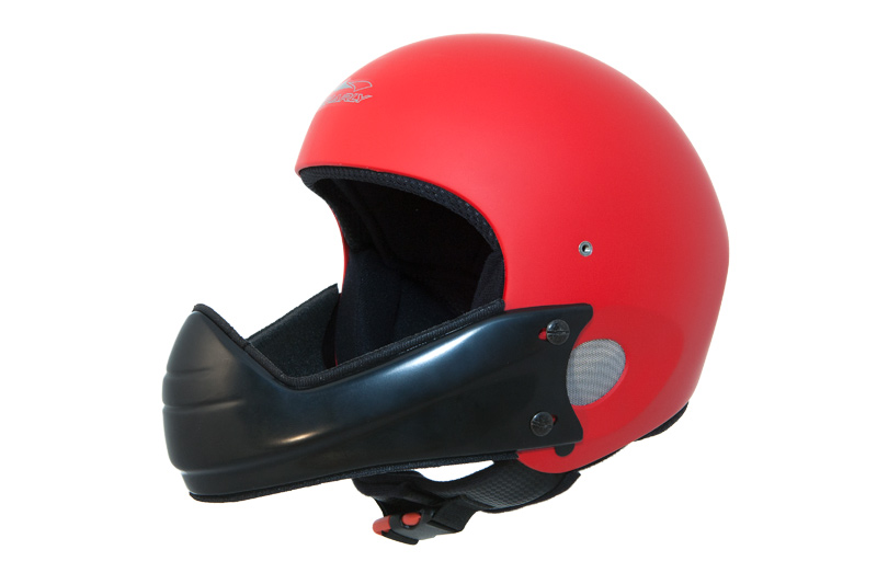 HHe5v Charly Ace red + HHe510 Chin guard wide